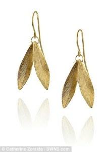 Double Leaf Earrings från Catherine Zoraida