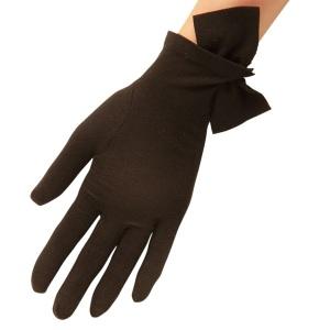 Imogen Pure Wool Glove i Black från Cornelia James