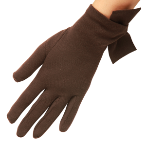 Imogen Pure Wool Glove i Chocolate från Cornelia James