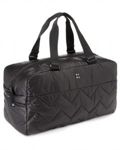 On the Go Luxe Gym Bag i Black från Sweaty Betty