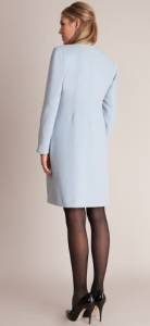 Seraphine Natasha Cashmere Blend Coat back