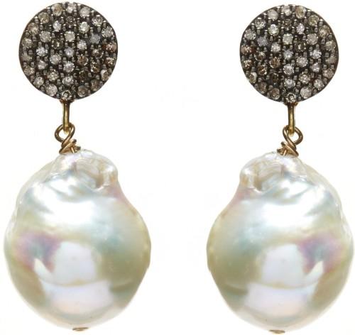 Baroque_diamond_earrings-_gold-white_pearl_ in2design