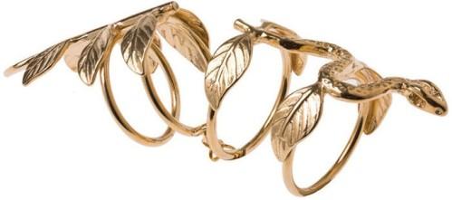 Snake Leaf Ring Maria Nilsdotter