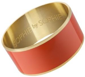 large-enamel-bangle-i-gold-plated-brass-orange-sophie-by-sophie