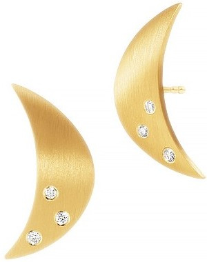 'Luna' Earrings Dulong Jewelry