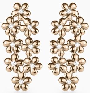 Poppy Earrings roséguld Kreuger