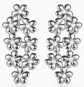 Poppy Earrings white gold Kreuger