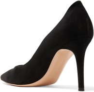 85 Suede Pumps i Black Gianvito Rossi bak