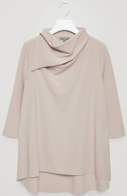 A-Line Top with Soft Neck COS
