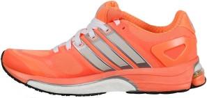 Adistar Boost Womens Glow OrangePearl MetallicTech Grey Metallic Adidas