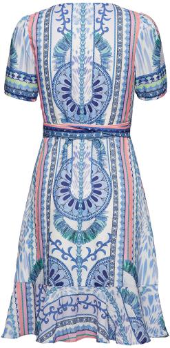 'Alba' Mini Dress i Paraíso By Malina bak