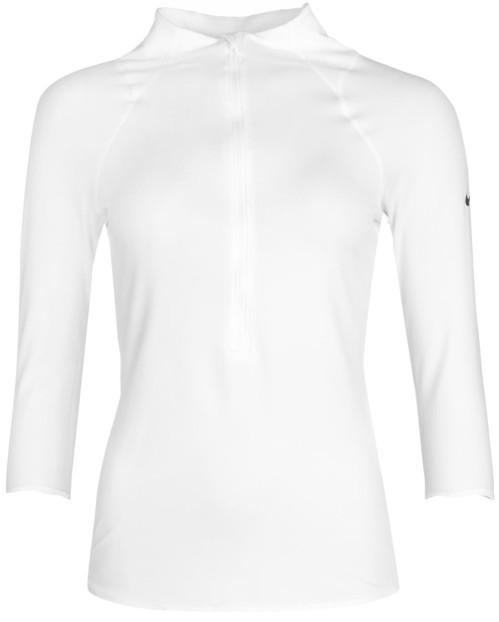 baseline-half-zip-i-white-white-black-nike