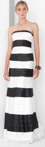 BCBG Max Azria randig klänning