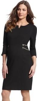black-zip-detail-maternity-dress-seraphine-fram