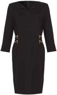 black-zip-detail-maternity-dress-seraphine-singel