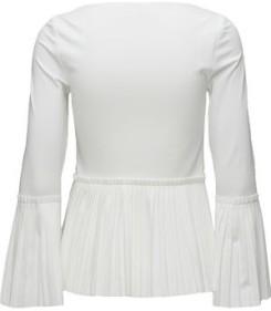 'Blossom' Blouse i White By Malina bak
