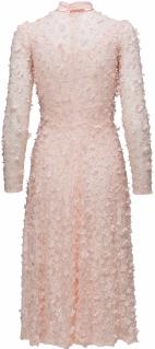 'Camille' Dress i 3D Soft Pink Ida Sjöstedt bak