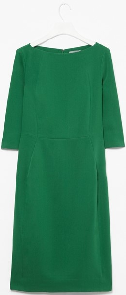 cos-green-panelled-dress