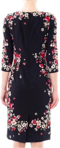 Dolce & Gabbana Multicolor Flower Dress bak