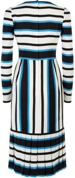 Dolce och Gabbana randig klänning singel bak