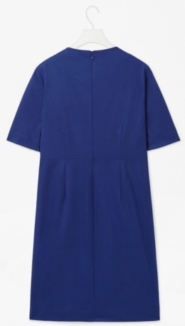 Dress Sea blue bak