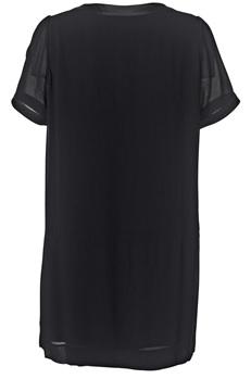 'Diama' Feminine Dress i Black från By Malene Birger bak