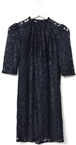'Feluca' Dress i Black Navy Ole Yde fram