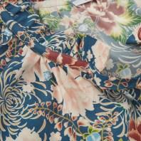 Feminine Silk Blouse With Ruffle Neckline Stenströms närbild