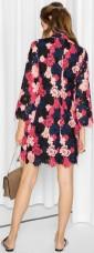 Floral Crochet Dress i Pink & Other Stories bak