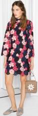 Floral Crochet Dress i Pink & Other Stories fram