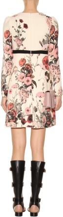 Floral Dress Giambattista Valli bak