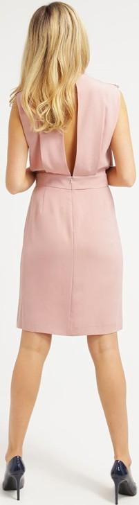 Fodralklänning i Rosa Filippa K bak