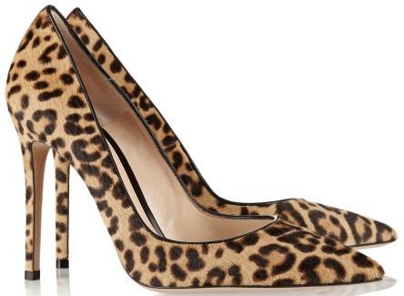 gianvito rossi leopard print