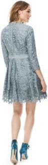 'Ginger' Dress i Dove Blue By Malina bak