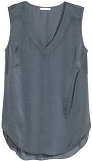 Grafitgrått linne H&M