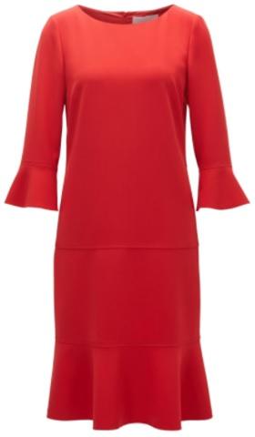 'Henryke' Dress i Red Hugo Boss