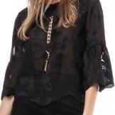 'Hiba' Blus i Black By Malina fram