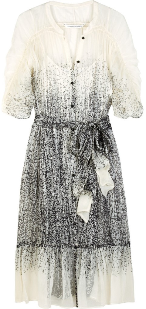 Kittine Chiffong Dress Diane von Furstenberg