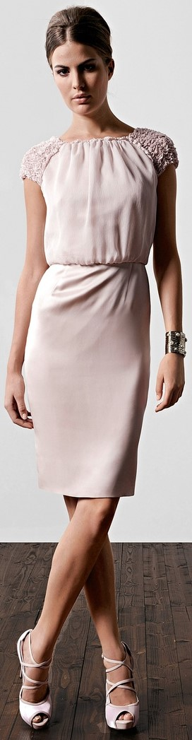 Klänning Blush Pink Escada