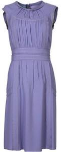 Lila Prada klänning
