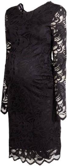 Mama Spetsklänning i Svart HM fram