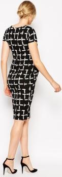 Maternity Dress i Check Print ASOS fram (2)