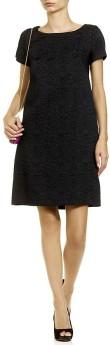 max-mara-black-cola-brocade-dress