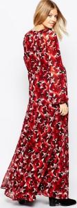 Maxi Dress i Star Print bak
