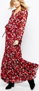 Maxi Dress i Star Print sida