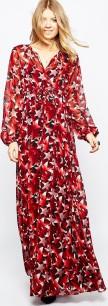 Maxi Dress i Star Print