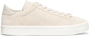 Original Court Vantage Sneakers i Ecru Suede Adidas sida