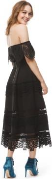 'Othelia' Dress i Black By Malina fram (2)