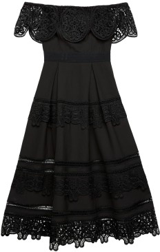 'Othelia' Dress i Black By Malina