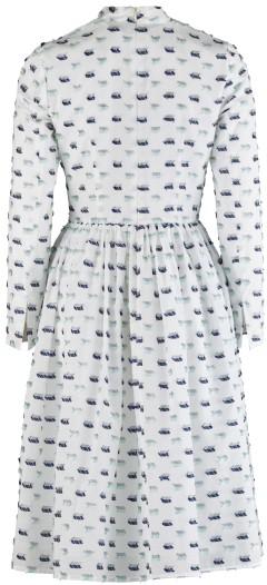 'Palasan' Dress i White Rodebjer bak
